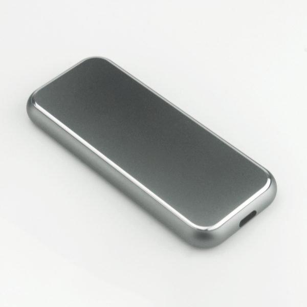 DiskMFR NVMe SSD enclosure silver black color